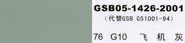 G10 飞机灰