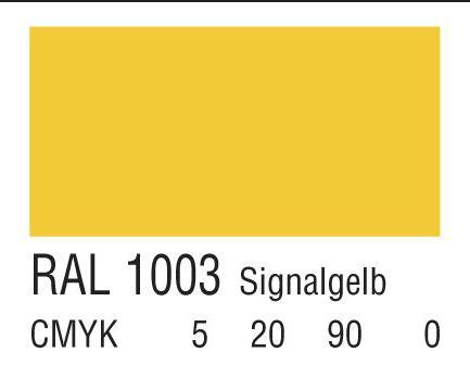 RAL 1003信号黄