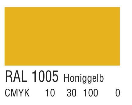 RAL 1005蜜黄色