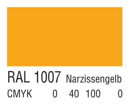 RAL 1007灰黄色