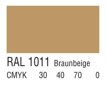 RAL 1011米褐色