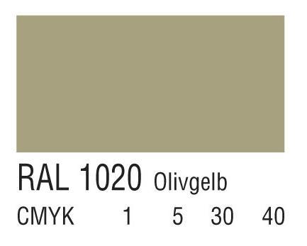 RAL 1020橄榄黄