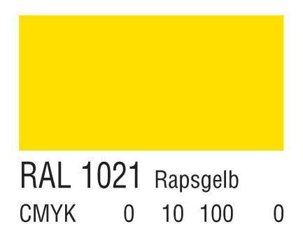 RAL 1021油菜黄