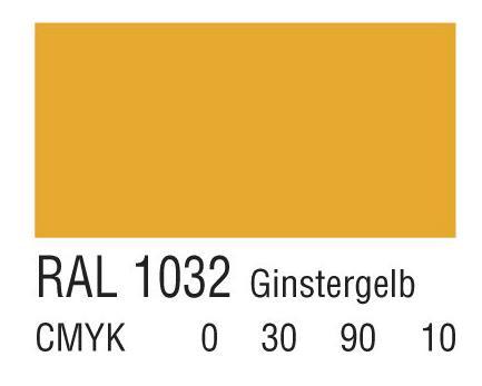 RAL 1032金雀花黄