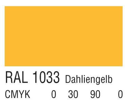 RAL 1033大丽花黄