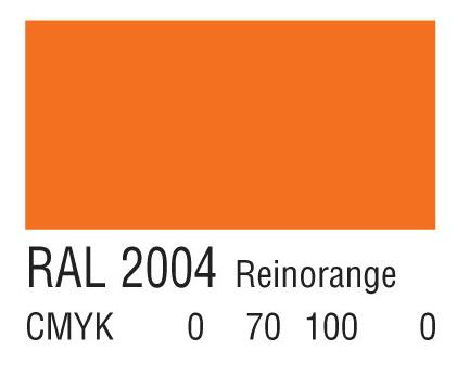 RAL 2004纯橙