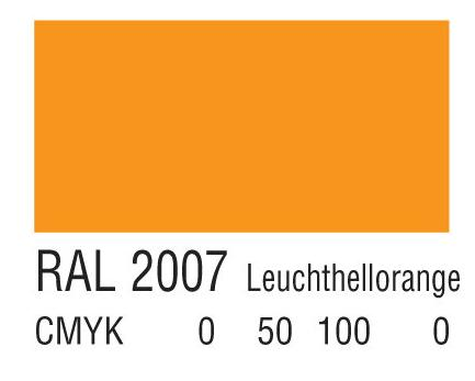 RAL 2007亮浅橙