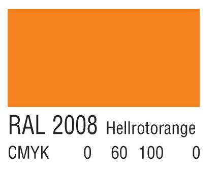 RAL 2008浅红橙