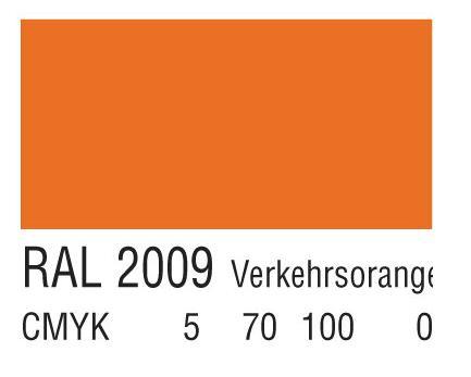 RAL 2009交通橙