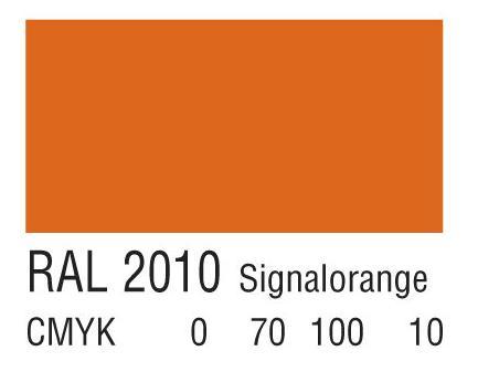 RAL 2010黄红