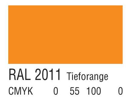 RAL 2011深橙色