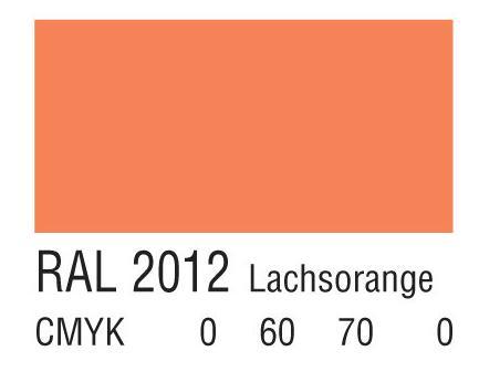 RAL 2012鲑鱼橙