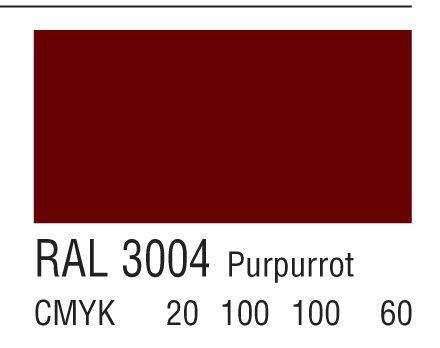 RAL 3004紫红色
