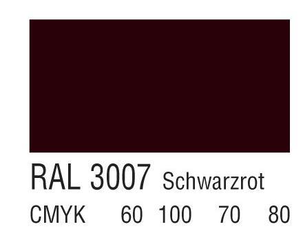 RAL 3007黑红色