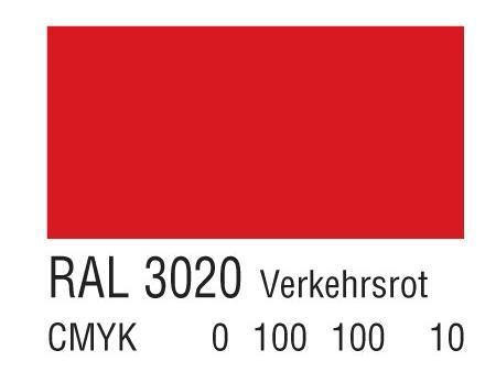 RAL 3020交通红