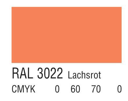 RAL 3022鲑鱼粉红色