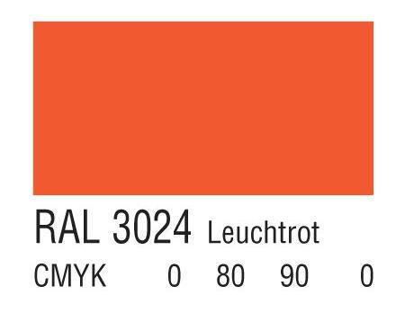 RAL 3024亮红色