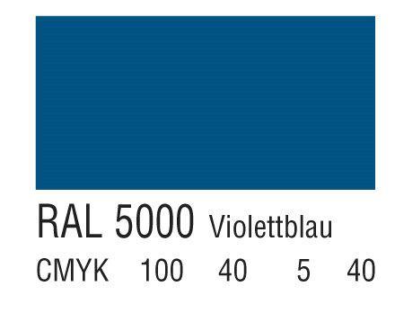 RAL 5000紫蓝色