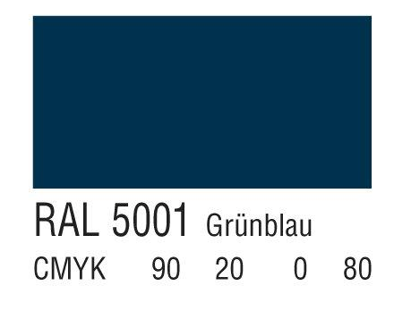 RAL 5001蓝绿色