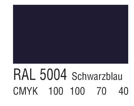 RAL 5004蓝黑色