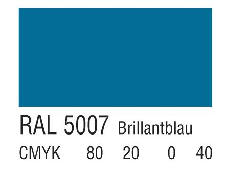 RAL 5007亮蓝色