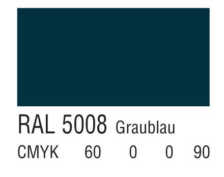 RAL 5008灰蓝色