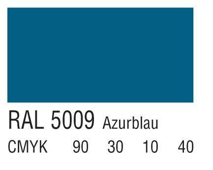 RAL 5009天青蓝