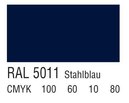 RAL 5011钢蓝色