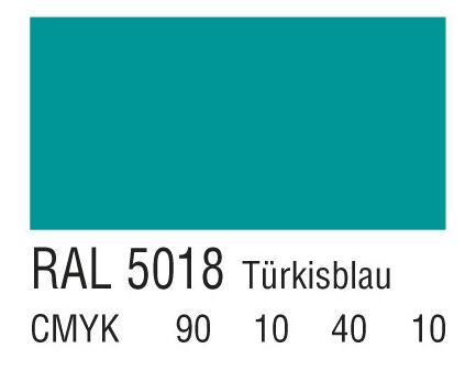 RAL 5018绿松石蓝