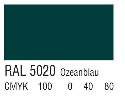 RAL 5020海蓝色